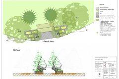 Návrh revitalizácie a sadové úpravy okolia autobusovej zastávky v Hrochoti